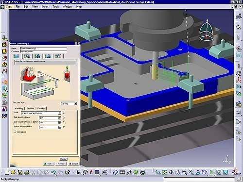 CATIA V5 Prismatic Machining (PMG)