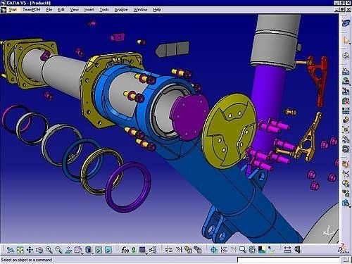 CATIA V5 DMU Fitting (FIT)