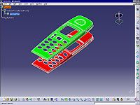 CATIA V5 Core and Cavity