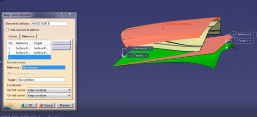 CATIA Generative Shape Optimizer GSO