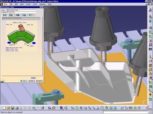 CATIA V5 Advanced Machining (AMG)