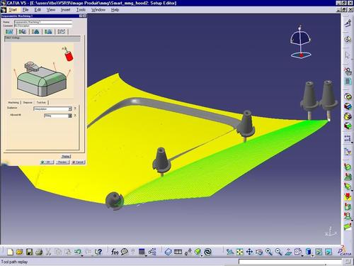 CATIA V5 Multi-Axis Surface Machining (MMG)