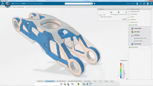 CATIA Function Driven Generative Design GDE
